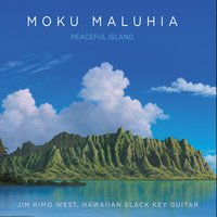 Album Moku Maluhia - Peaceful Island by Kimo West