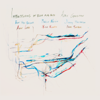 Album Impressions in Blue and Red by Alex Goodman