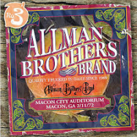 Allman Brothers Band: Macon City Auditorium, Macon GA 2/11/72