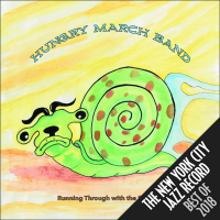Album Running Through with the Sadness by Hungry March Band