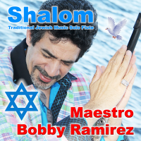Shalom Traditional Jewish Music Solo Flute