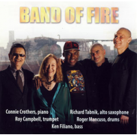 Album Band Of Fire by Connie Crothers
