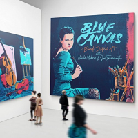 "Read ""Blue Canvas"" reviewed by Dan Bilawsky"