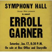 Erroll Garner: Boston, 1959