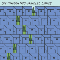 Album Parallel Lights by Pete Johnston