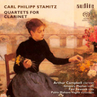 Carl Philipp Stamitz: Quartets for Clarinet by Arthur Campbell
