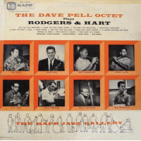 Album The Dave Pell Octet Plays Rodgers & Hart by Dave Pell