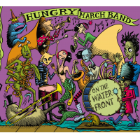 Album On The Waterfront by Hungry March Band