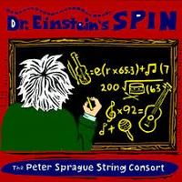 Album Dr. Einstein's Spin by Peter Sprague
