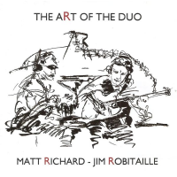 Album Art of the Duo by Jim Robitaille