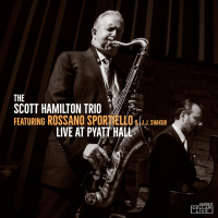 Album Live at Pyatt Hall by Scott Hamilton