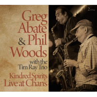 Album Kindred Spirits: Live at Chan's by Greg Abate