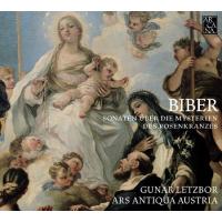 ARS Antiqua Austria, Gunnar Letzbor: Biber: Sonaten Uber Die Mysterien des Rosenkranzes