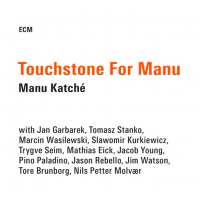 "Read ""Manu Katche: Touchstone for Manu"" reviewed by John Kelman"