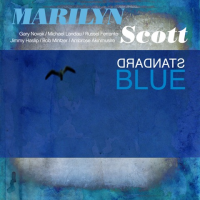Standard Blue by Marilyn Scott