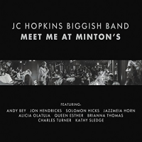 Album Meet Me At Minton's by JC Hopkins Biggish Band