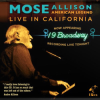 Album Mose Allison: American Legend in California by Mose Allison