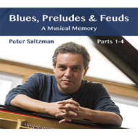 2016 top 50 most recommended CD reviews: Blues, Preludes and Feuds by Peter Saltzman
