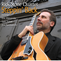 Album Steppin' Back by Rick Stone (Guitar)