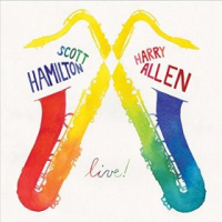 Scott Hamilton / Harry Allen: live!