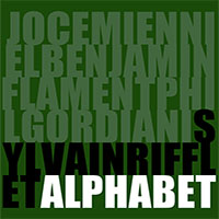Album Alphabet by Sylvain Rifflet