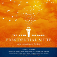 Album Presidential Suite (Eight Variations on Freedom) by Ted Nash