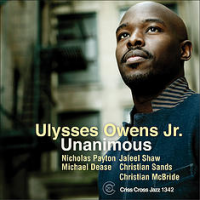 Album Unanimous by Ulysses Owens, Jr.