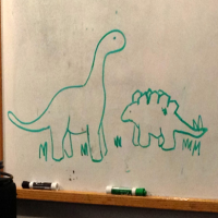Album Whiteboard Dinovisions by Peter Dragotta
