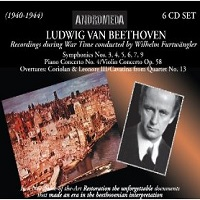 Wilhelm Furtwangler: Ludwig van Beethoven - Recordings during War Time conducted by Wilhelm Furtwangler