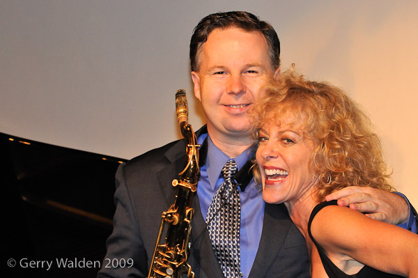 Judy Carmichael (Piano and Vocals) and Harry Allen (Tenor)