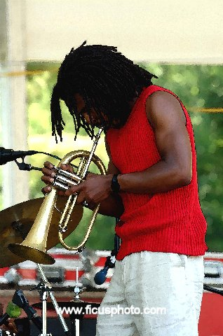 Roy Hargrove -- Berkshire Jazz Festival 2001