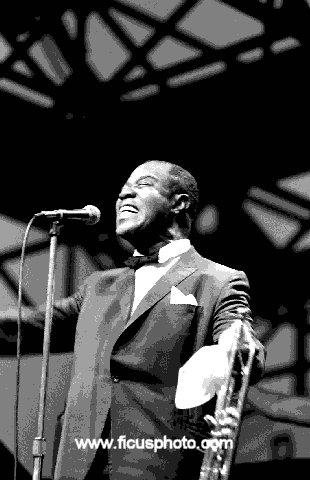 Louis Armstrong -- Central Park, New York 1967