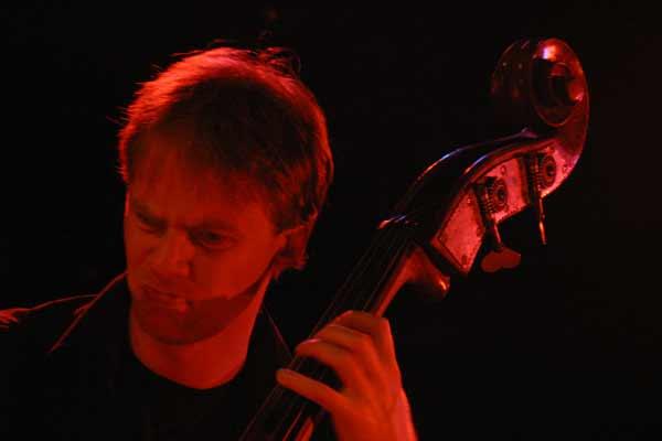 """Johannes Weidenmuller with """"David Berkman Quartet"""" at Amr, Sud Des Alpes, Geneva, Switzerland,2004"""