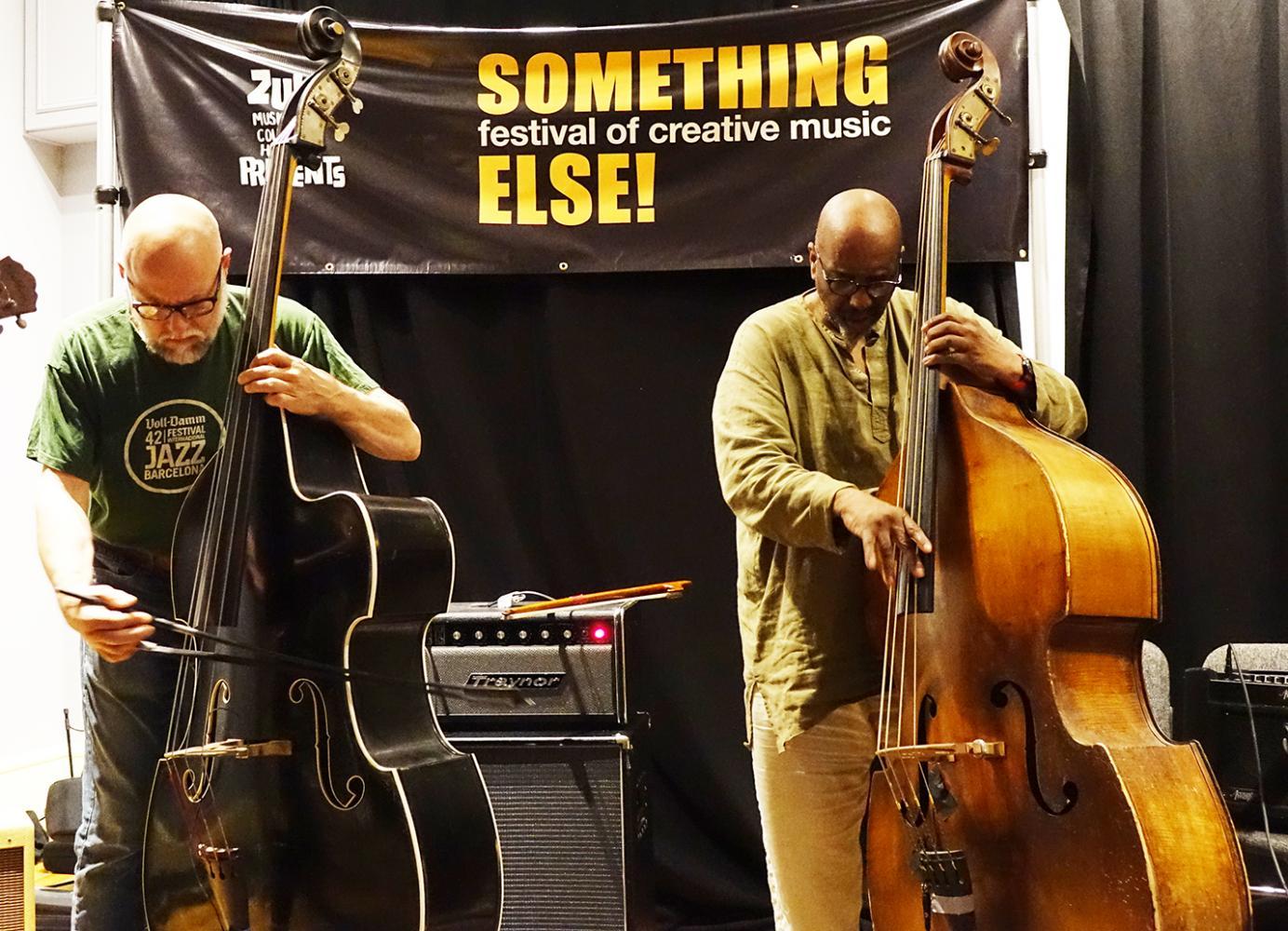 Kent Kessler & William Parker at Something Else! Festival