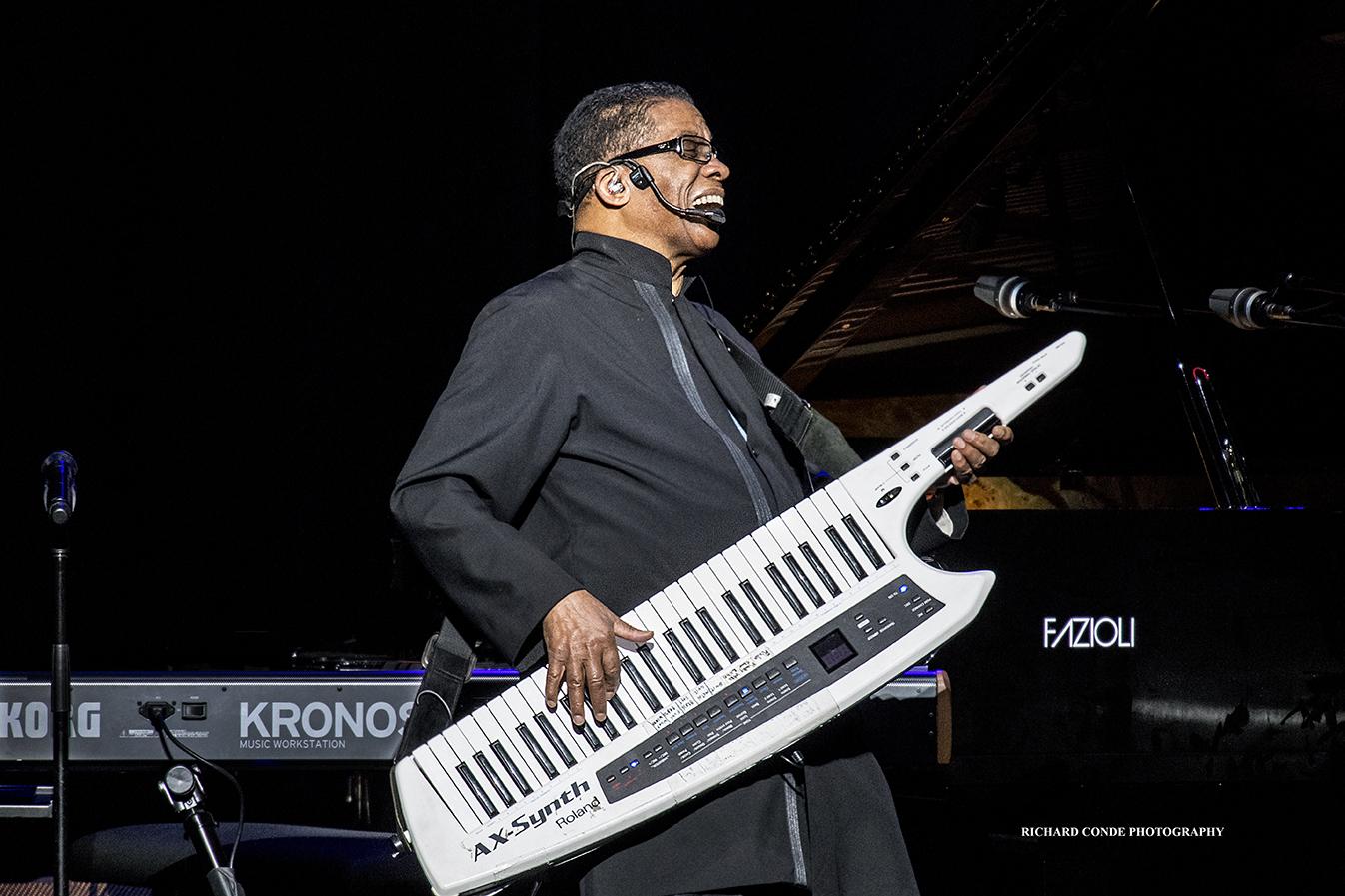 Herbie Hancock at the 2018 Saratoga Jazz Festival