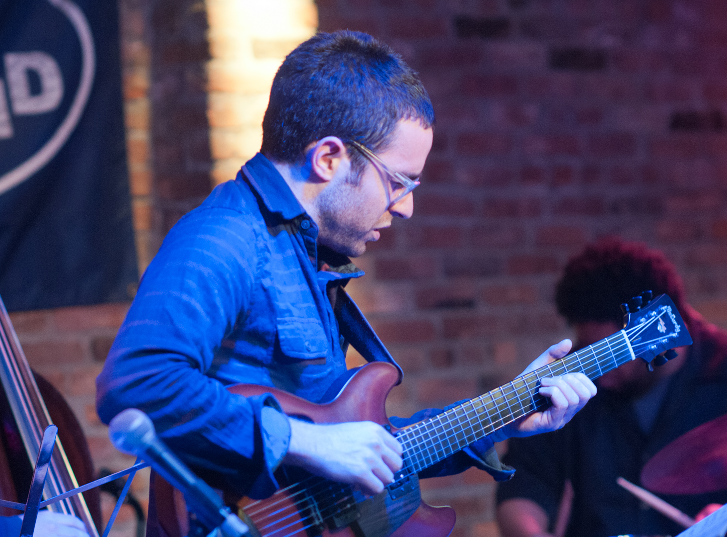 Todd Neufeld with Tyshawn Sorey's Oblique at the Winter Jazzfest 2012