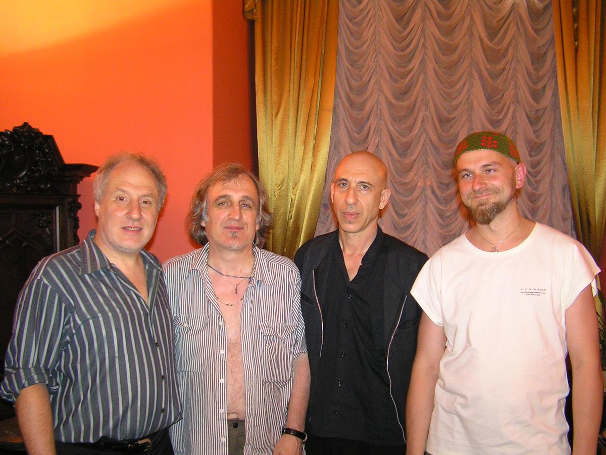 Yuriy Yaremchuk, Elliot Sharp, Anthony Coleman and Mark Tokar