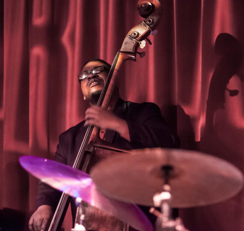 Dezron Douglas with the Ravi Coltrane Quartet at Birdland