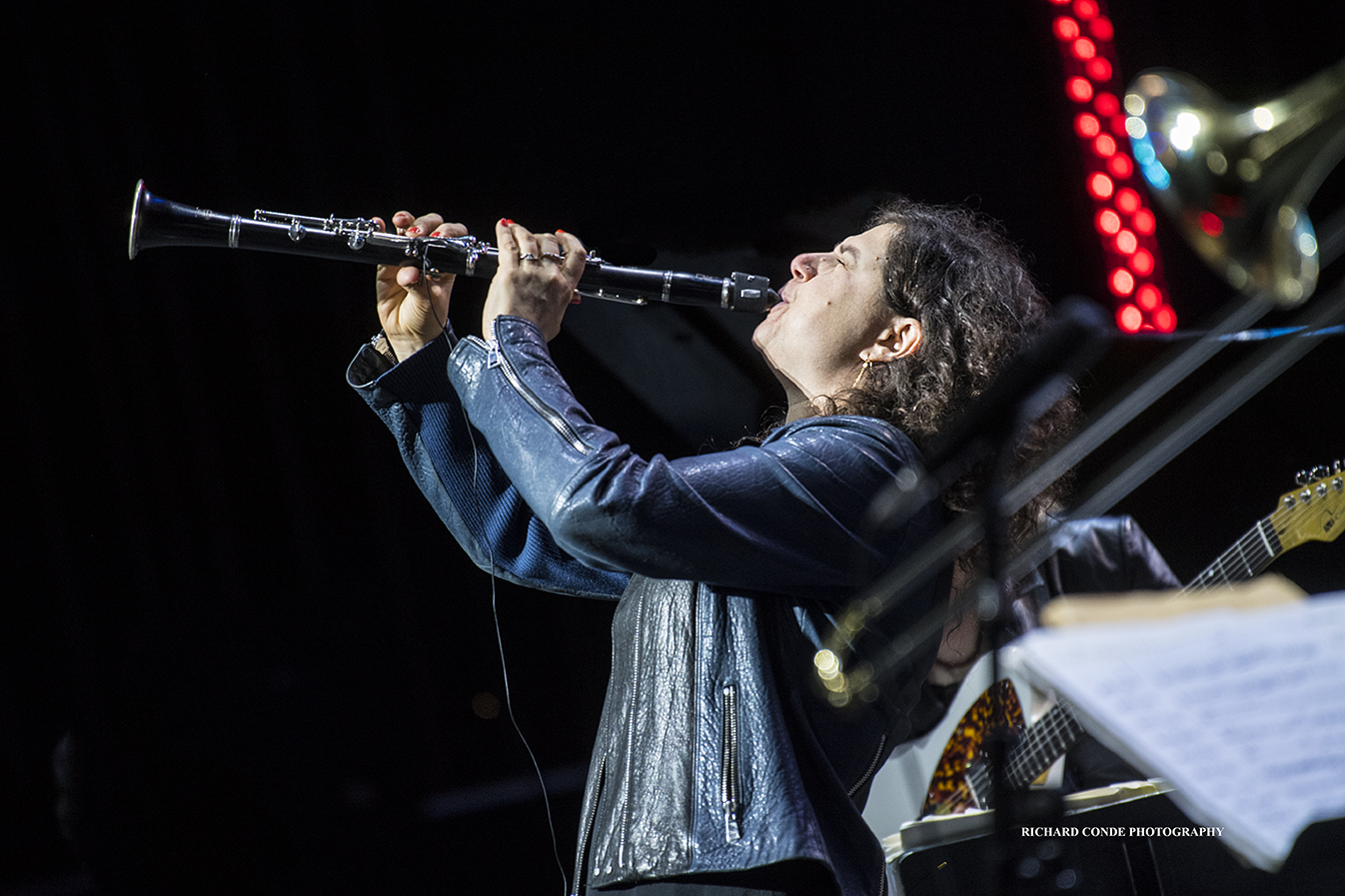 Anat Cohen at the 2018 Freihofer Saratoga Jazz Festival