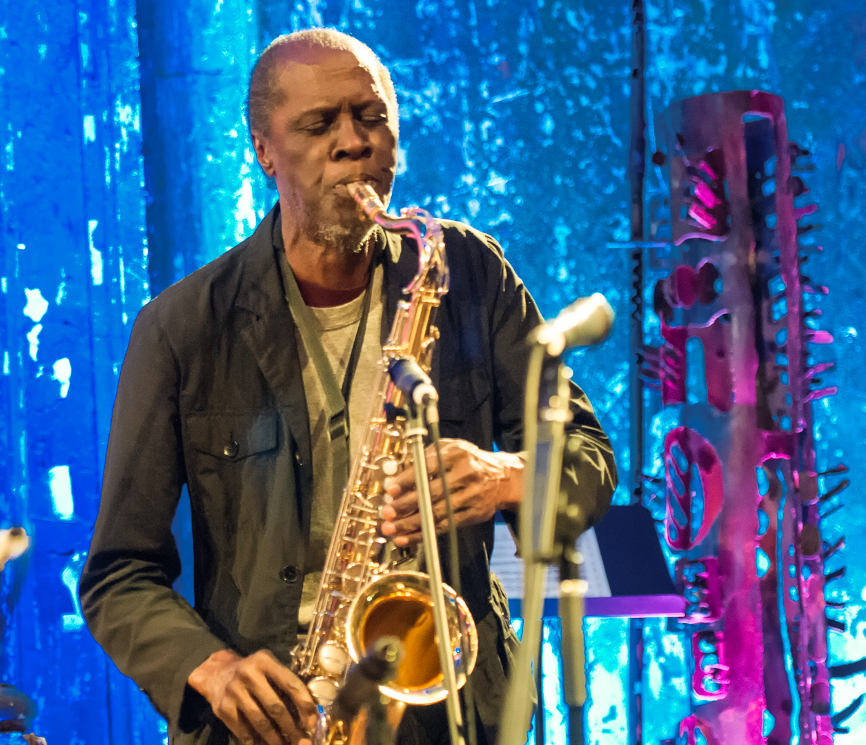 Charles Gayle at the Under_line Benefit at Angel Orensanz Foundation