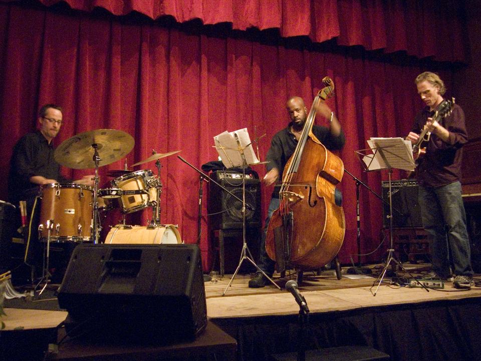 Michael Sarin Trio with Brad Shepik and Brad Jones - Spike Hill 2007