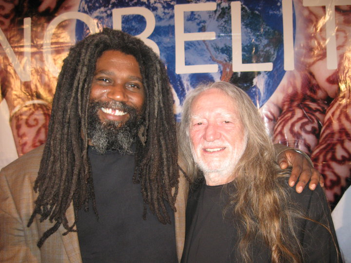 Jeff Lofton with Willie Nelson (2010)