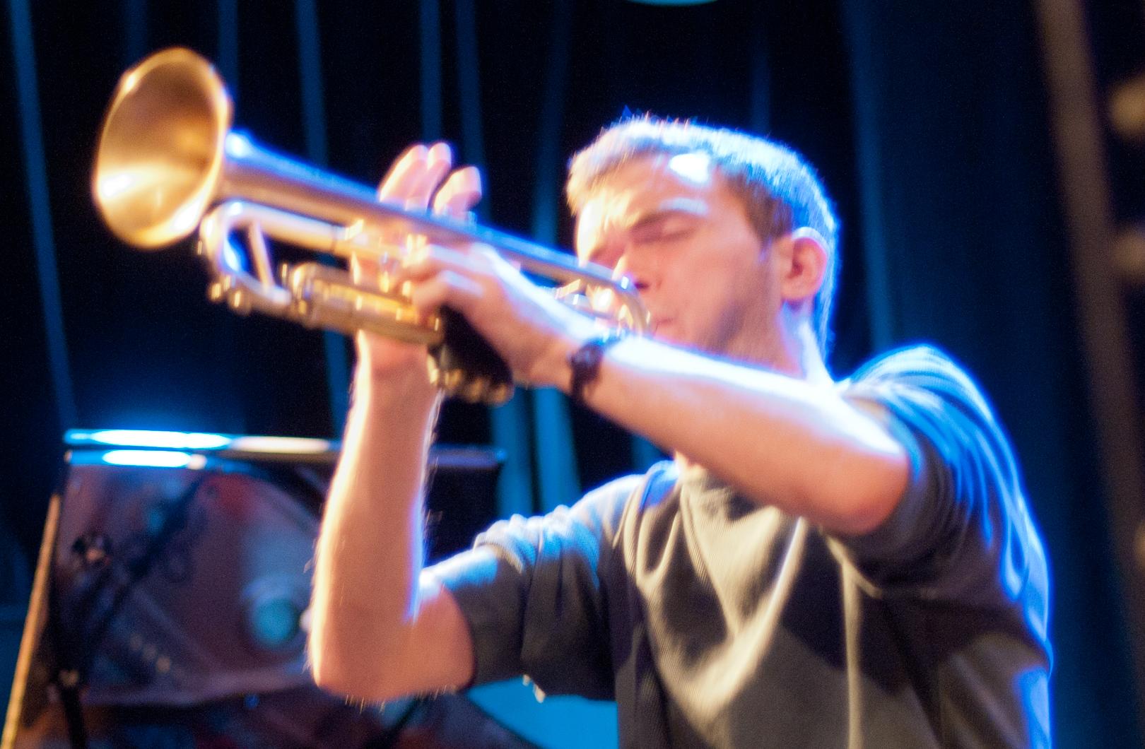 Ross Eustis at the Oslo Jazz Festival Jam Sessions