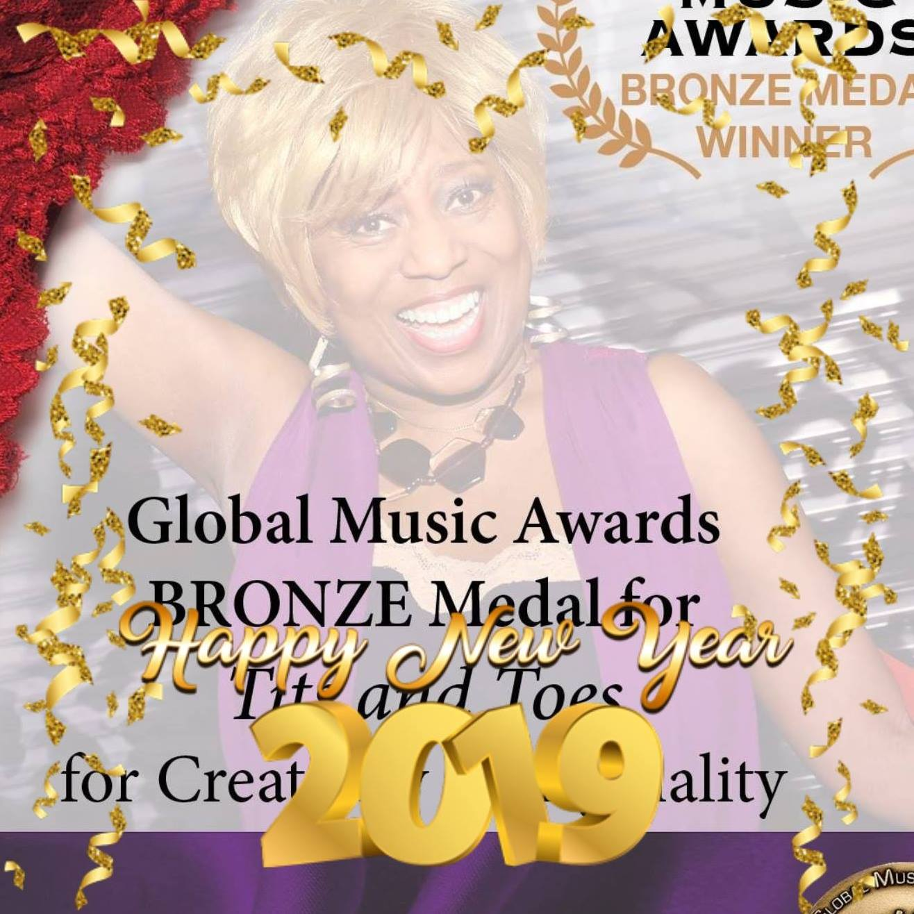 Grace Garland song a Global Music Award Winner