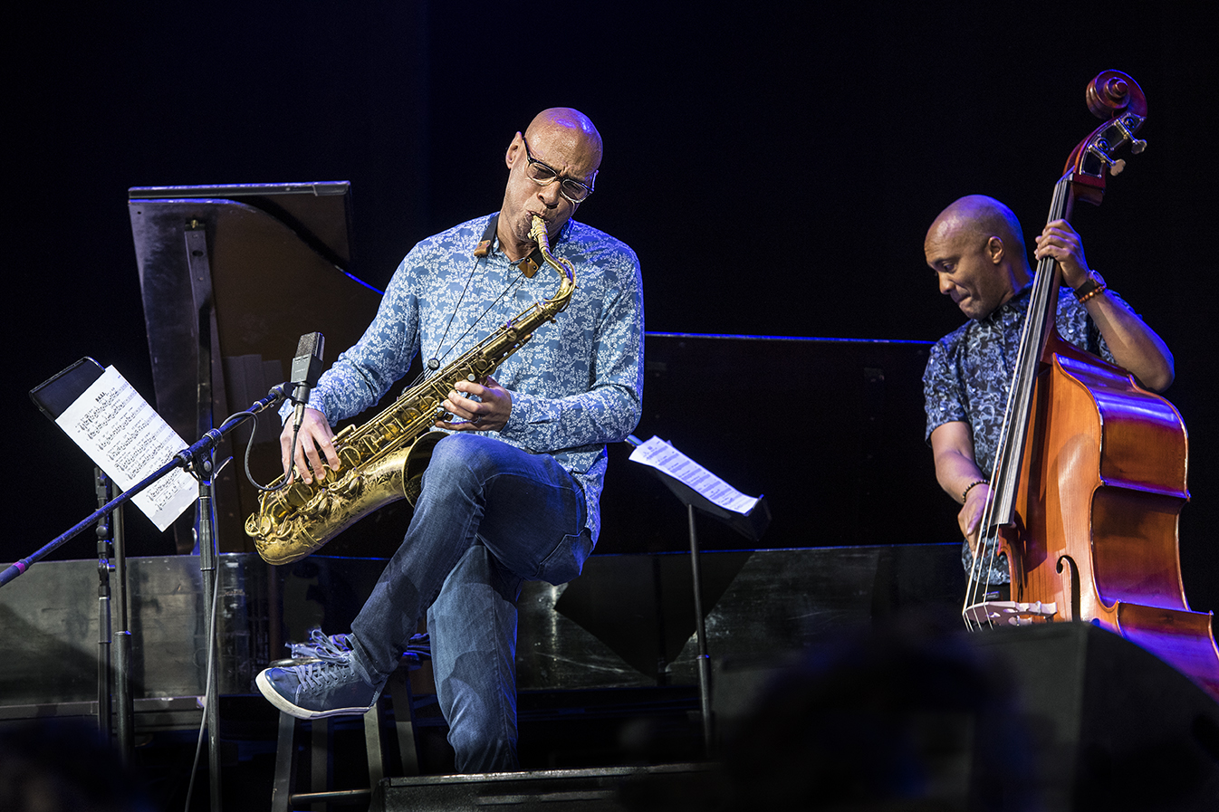 Joshua Redman at the 2019 Saratoga Jazz Festival
