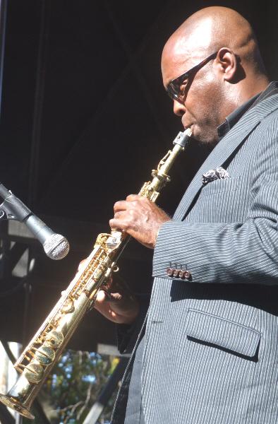 Tim Warfield with Dana Hall Quintet at 2010 Chicago Jazz Festival