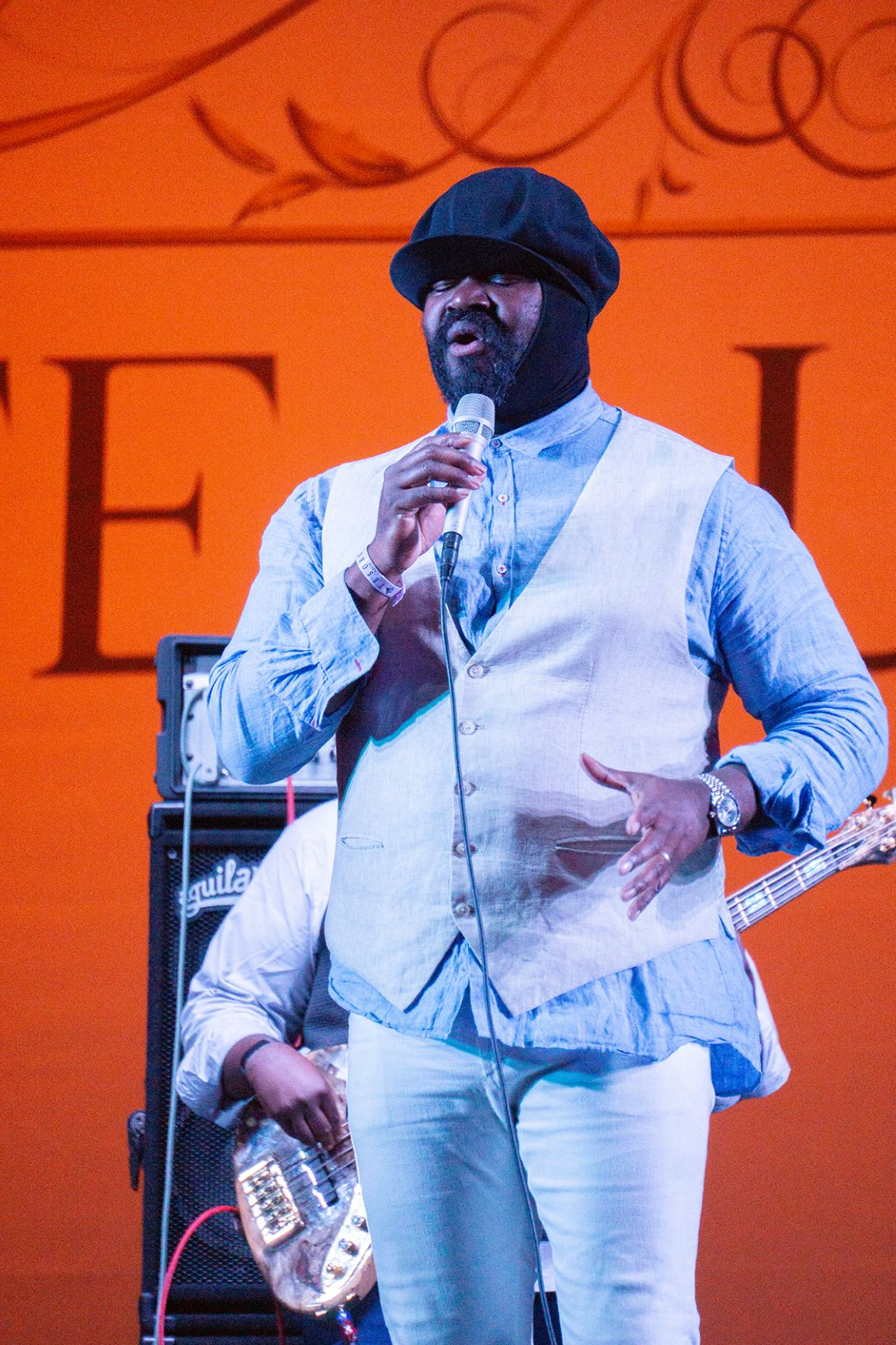 Singer Gregory Porter Fuses History and Future of Jazz, Blues and Soul at Life Luxe Jazz