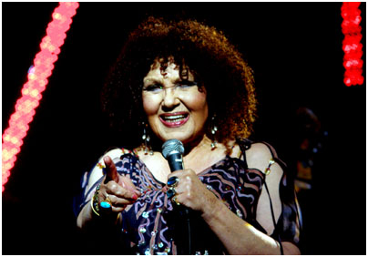 Cleo Laine 25874 HSBC Brecon Jazz Festival, Brecon, Powys, Wales, UK. August 2008 Images of Jazz