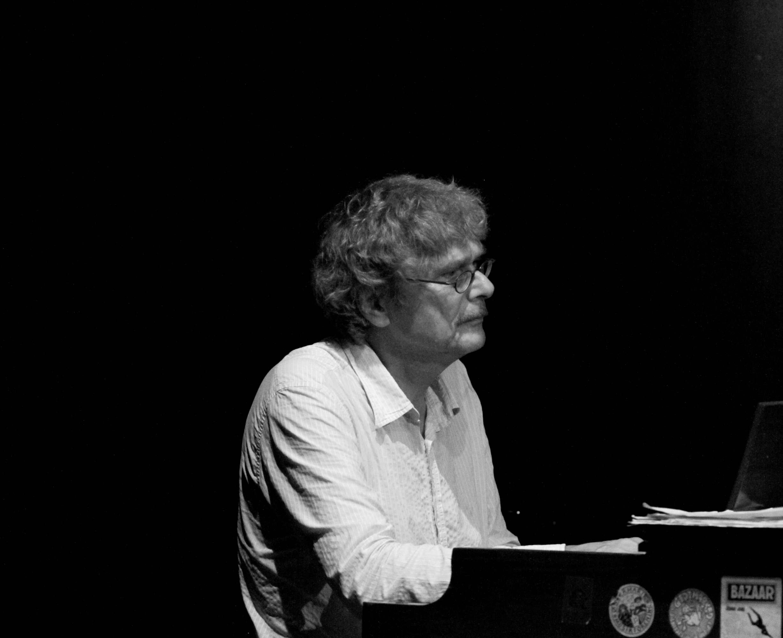 Anders Koppel (Hammond Organ) from the Danish Band Bazaar on Valby Summer Jazz 2012, Copenhagen