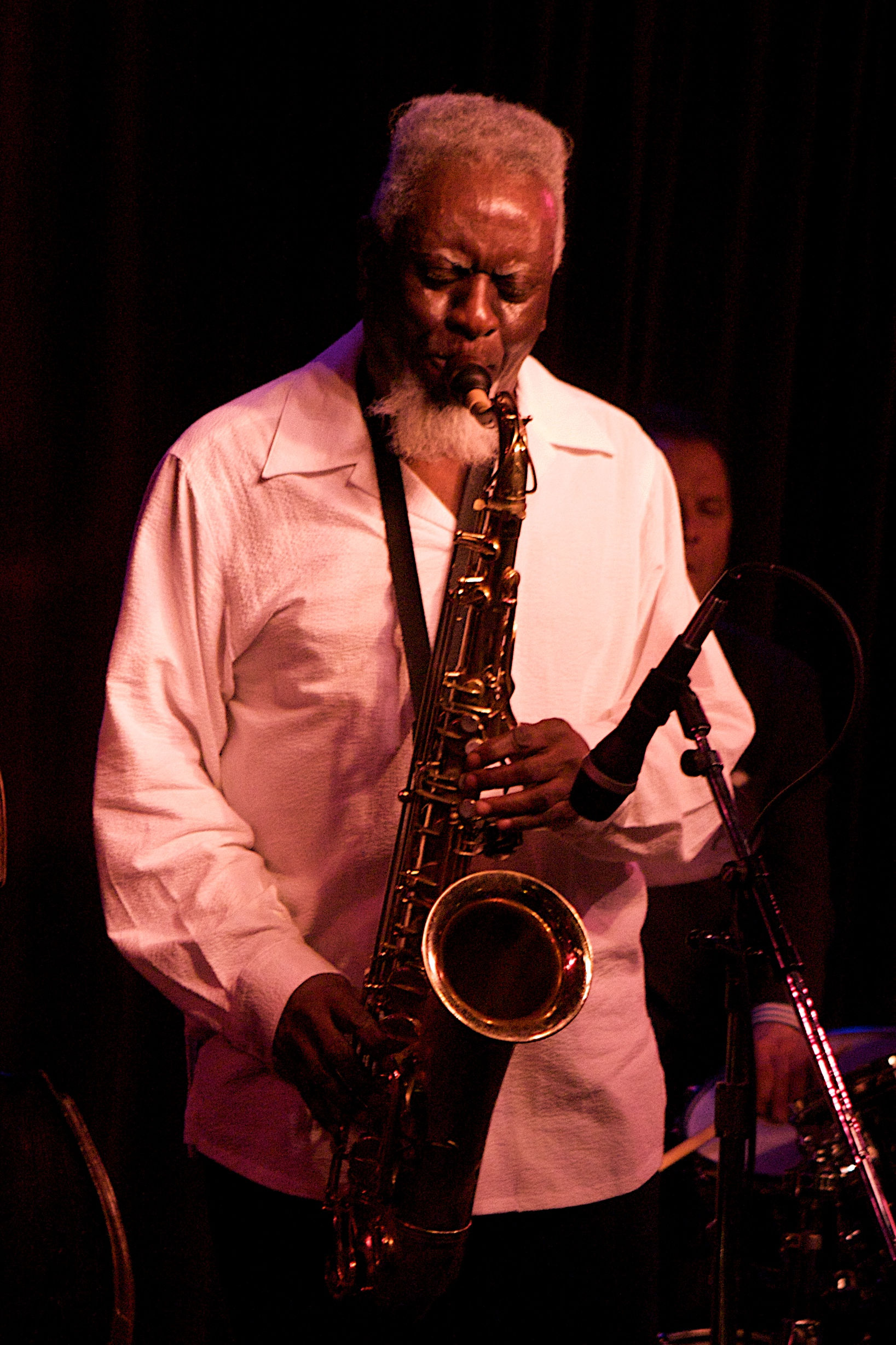 Pharoah Sanders at Birdland, NYC 3/20/12